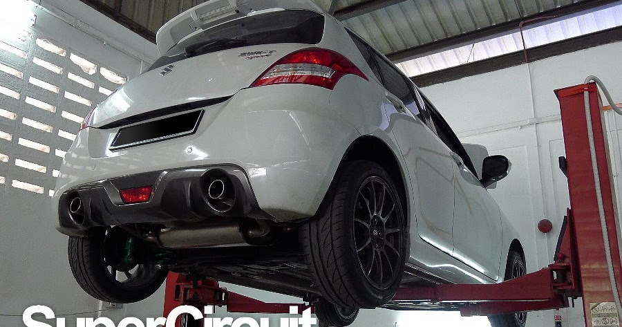 Taking Off Suzuki Mstock Exhaust