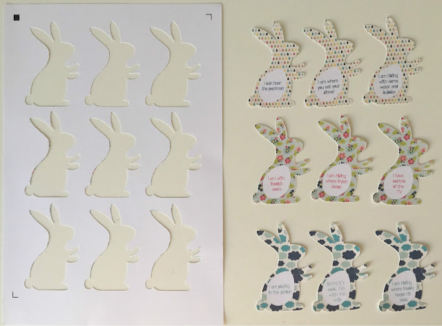 Silhouette Print and Cut Easter bunny hunt tutorial from Silhouette UK Blog