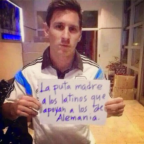 messi insults latin americans