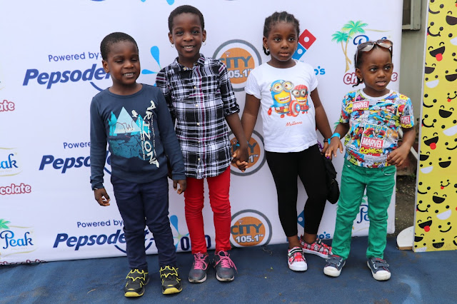 Pepsodent toothpaste treats kids to an exciting Children?s Day party