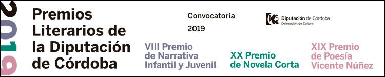 DIPUTACIÓN DE CÓRDOBA - PREMIOS LITERARIOS