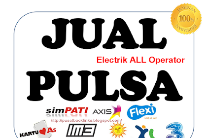 Jual Pulsa Online Murah All Operator