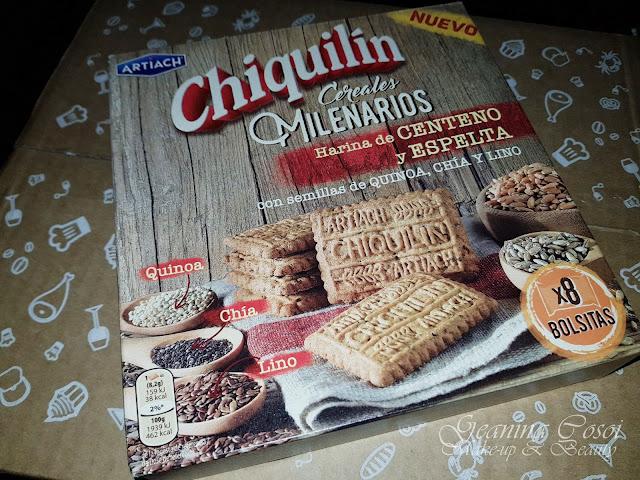 Chiquilín Cereales Milenarios Degustabox Enero ´18 - Especial Desayuno