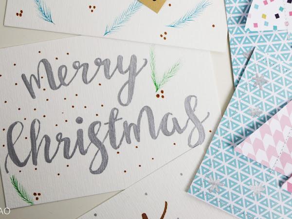 Merry Christmas - Postkarten
