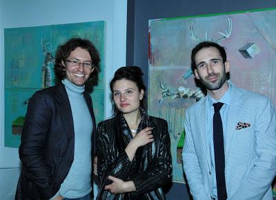 właściel galerii Van den Berg, Julia, Lech Bator