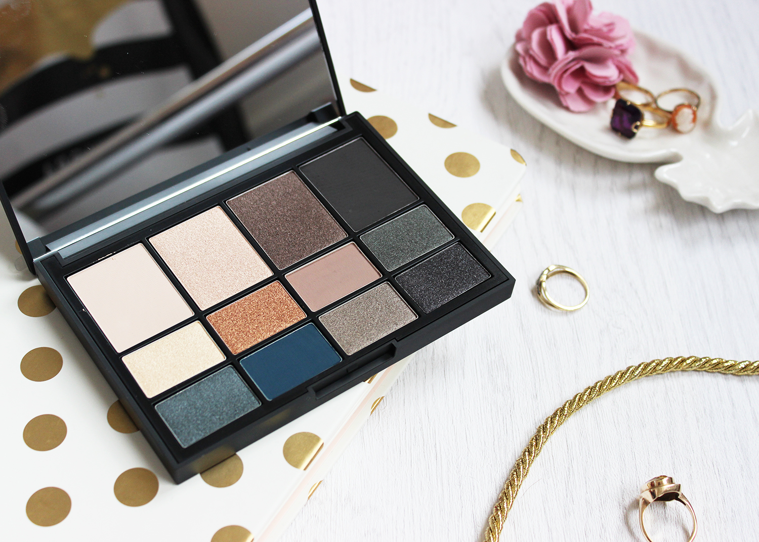 Nars Narsissist L'Amour Tourjours L'Amour eyeshadow palette review swatches