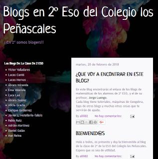 Los Blogs de 2º de ESO
