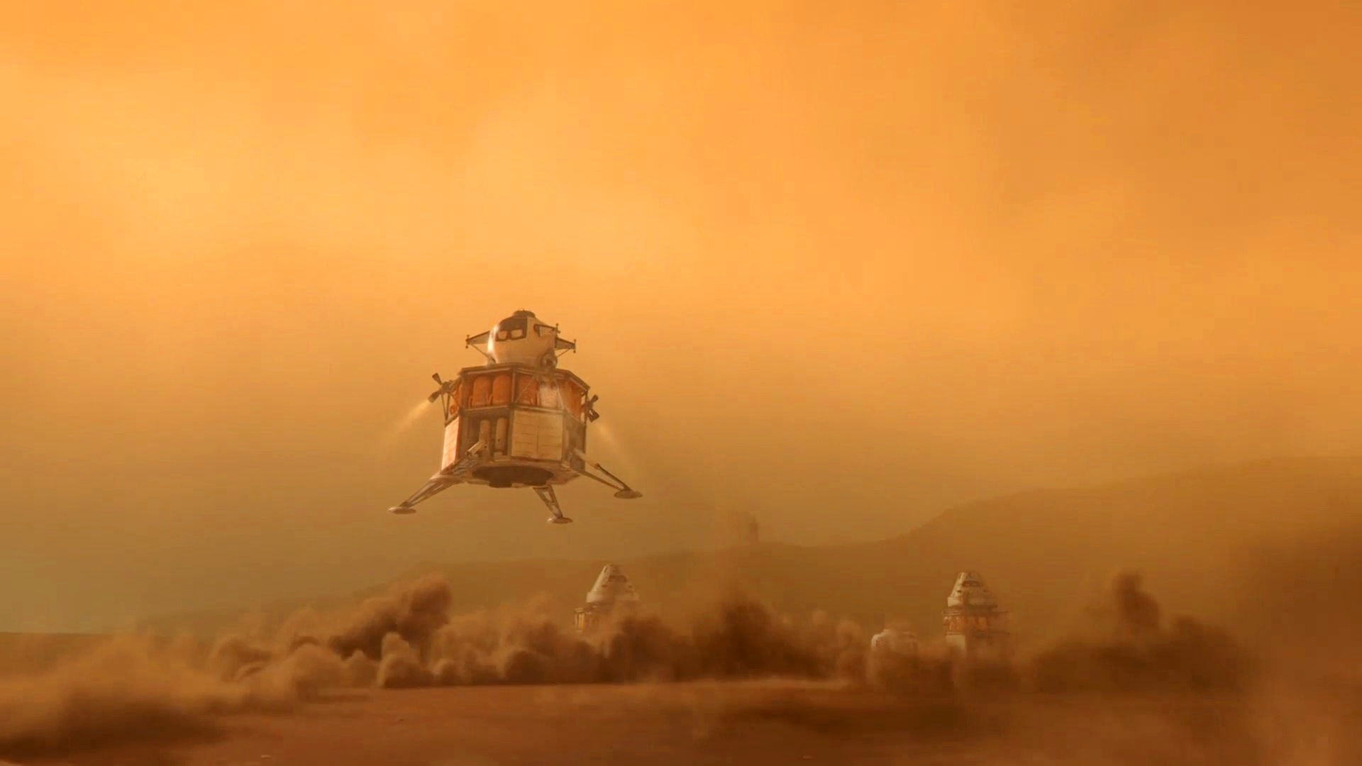 human Mars: HD images from Journey to Space documentary