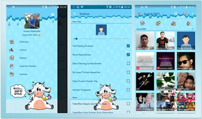 BBM MOD Lucu Tema MoOo Versi 2.13.1.14 APK