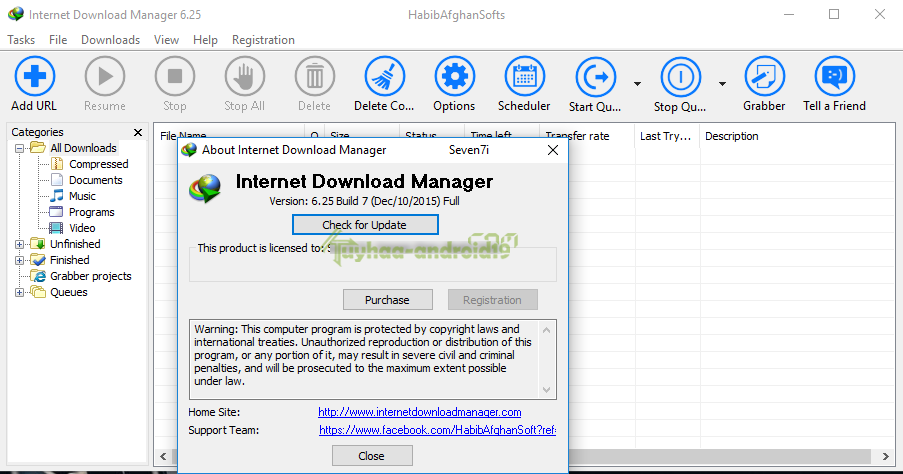 IDM 6.25 Build 7 Full Latest version Crack