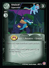 My Little Pony Ahuizotl, Oppressive Absolute Discord CCG Card