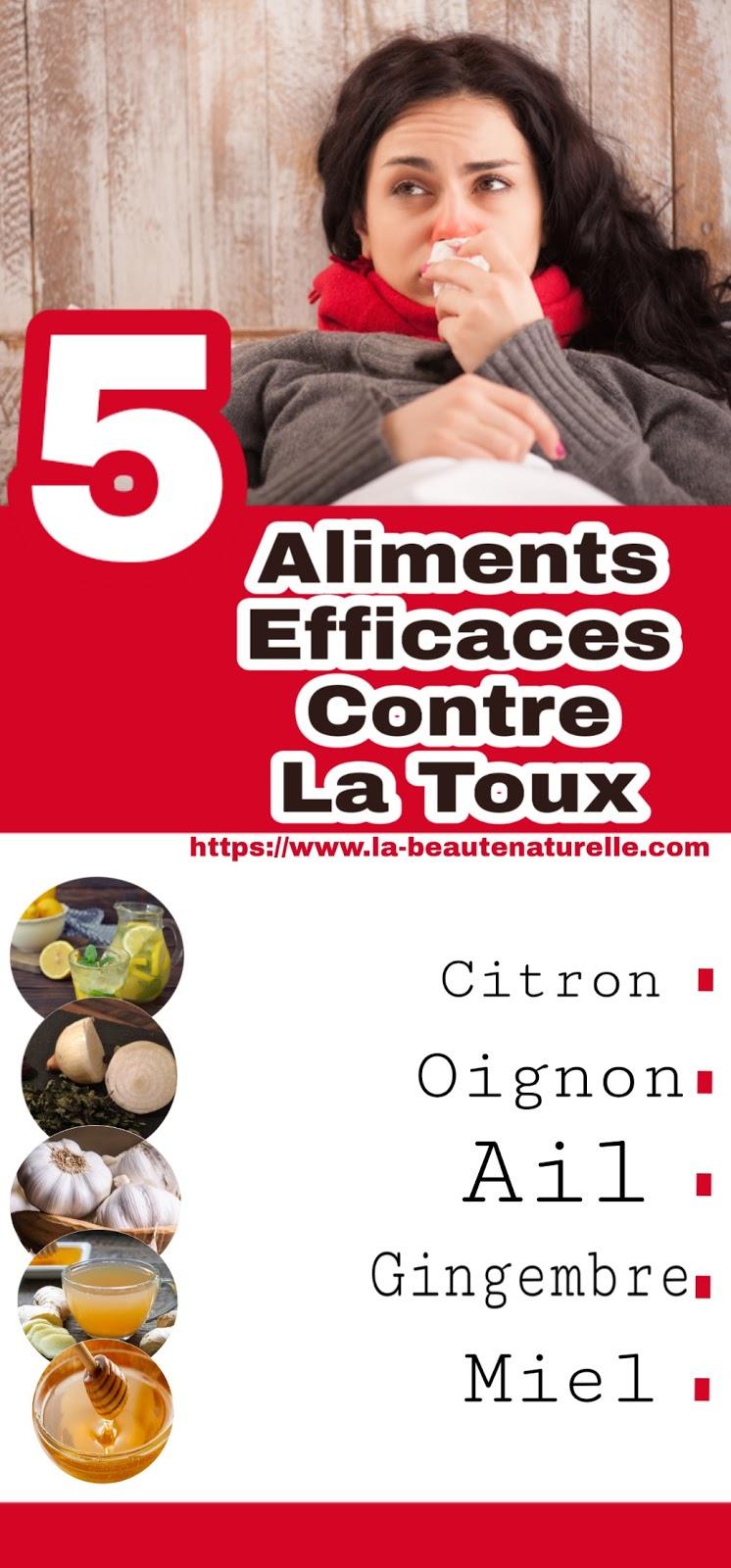 5 Aliments Efficaces Contre La Toux