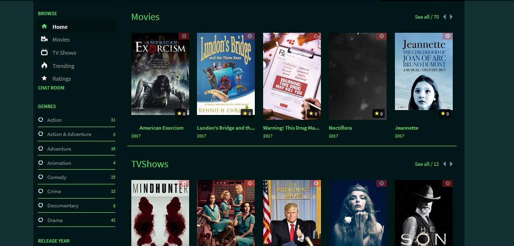 DooPlay Green WordPress Movies and Series Theme With Google Drive ...