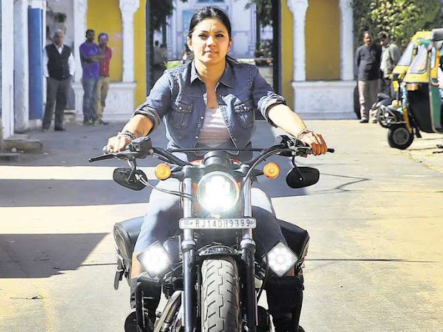 indias to bike rider veenu paliwal