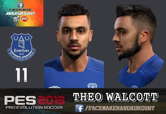 Theo Walcott Face PES 2013