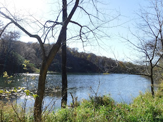 turtle lake at Stone State Park in Sioux City, Iowa