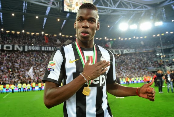 In what was his debut season in Serie A, Paul Pogba helped Juventus to win the Scudetto