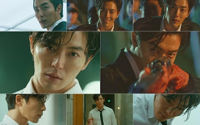 Kim Jae Wook As Mo Tae Goo in Korean Drama Voice, Watak Jahat, Psycho, Pembunuh Bersiri Dalam Drama Korea Voice,