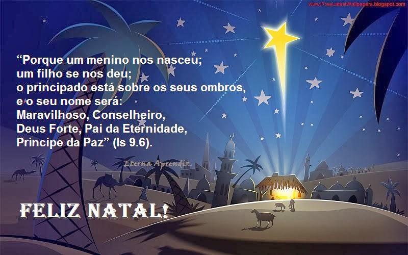 Frases Bíblicas Imagens Gospel: Mensagens De Natal Evangélicas