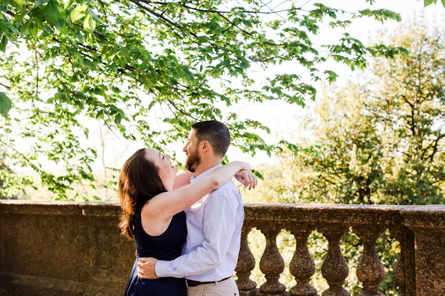 Meridian Hill Engagement Photos | Photos by Heather Ryan Photography