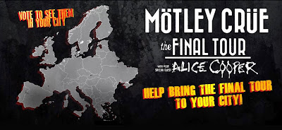 Motley Crue - Final Tour Europa 2015