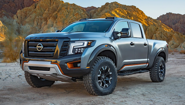 Nissan apresenta Titan XD Warrior Concept em Detroit