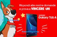 Logo ''A scuola di PetCare'': rispondi e vinci gratis Samsung Galaxy Tab A10