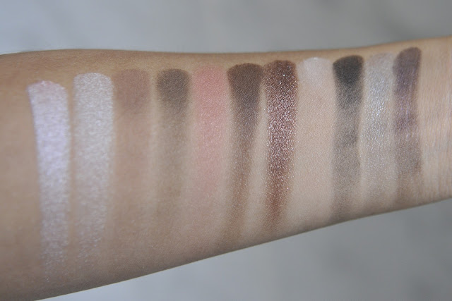 SEPHORA COLLECTION the Enchanting Palette Swatches