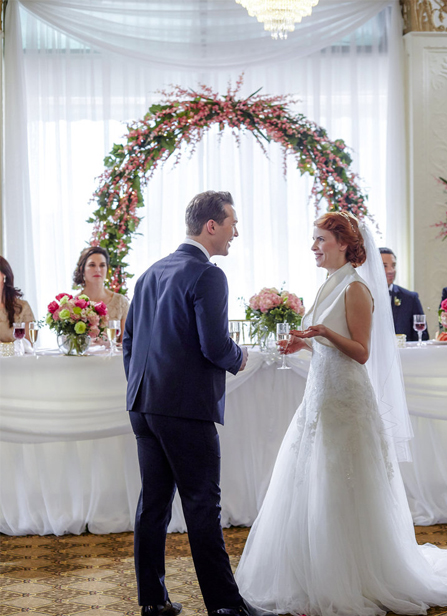 a hallmark wedding mystery starring brooke shields and