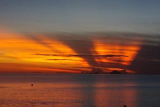 Puesta de sol en Nha Trang