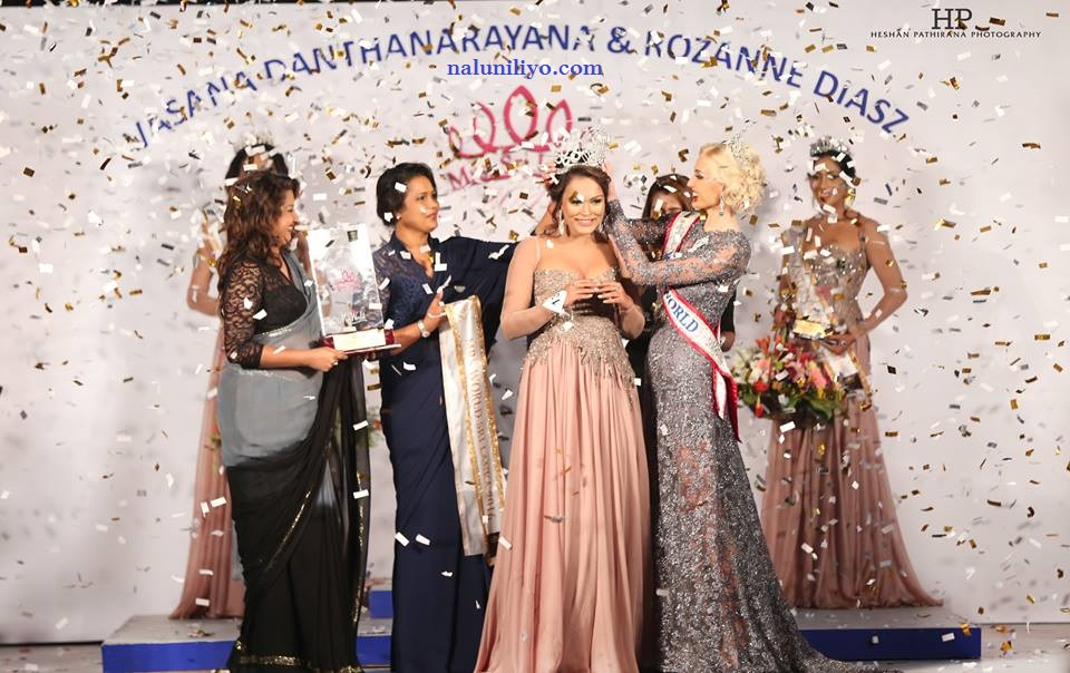 mrs sri lanka 2016 narmadha
