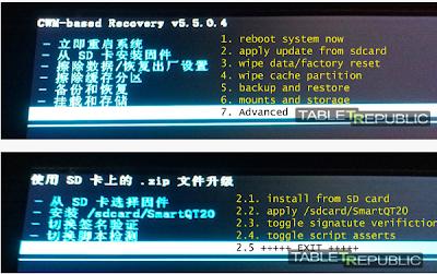 Hard Reset Android Bahasa Cina