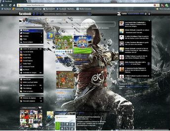 Tema Assassins creed IV black flag 2 facebook