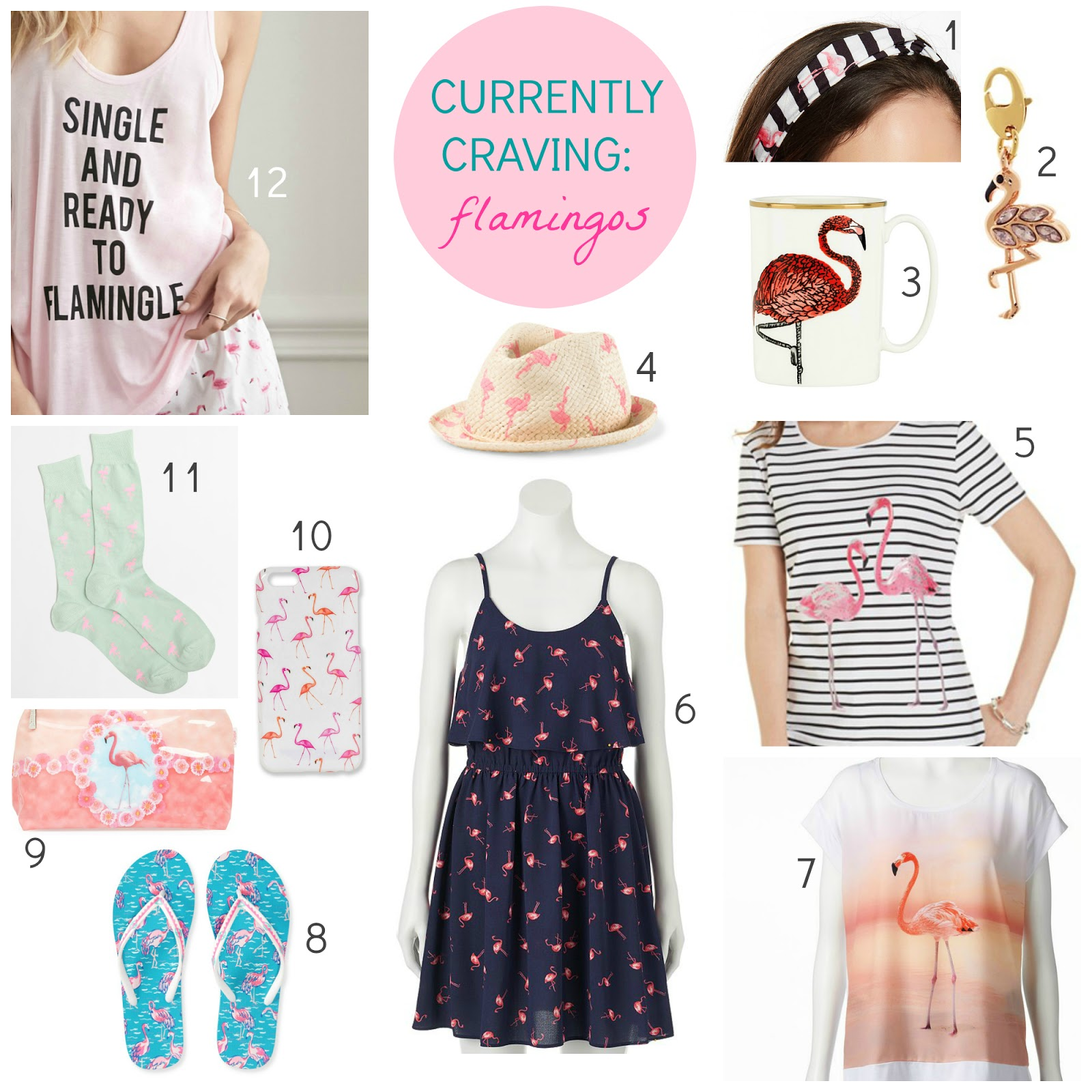 fbd7c9a6354 Tracy s Notebook of Style  Currently Craving  All Things Flamingo!