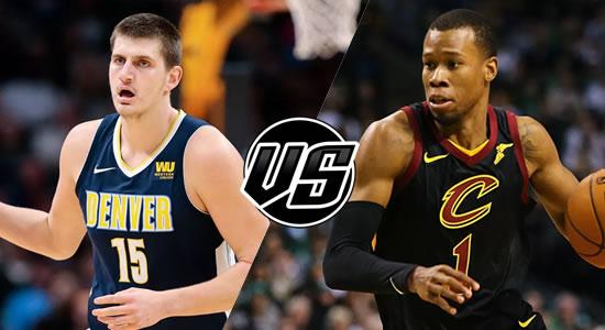Live Streaming List: Denver Nuggets vs Cleveland Cavaliers 2018-2019 NBA Season