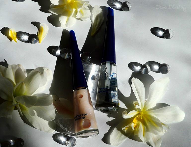 Herome - Glamour Nail Whitener wybielacz paznokci oraz Cuticle Remover płyn do usuwania skórek