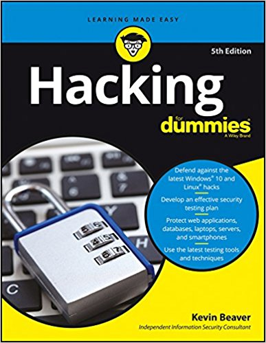 Hacking For Dummies, 5ed Paperback – 2016 #Amazon