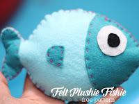 Cara Membuat Boneka Ikan Lucu Dari Kain Flanel