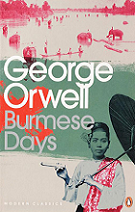 Burmese Days by George Orwell book cover