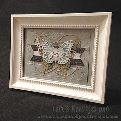 Stampin' Up!® producten zijn verkrijgbaar via carooskaartjes@hotmail.nl / www.carooskaartjes.blogspot.nl