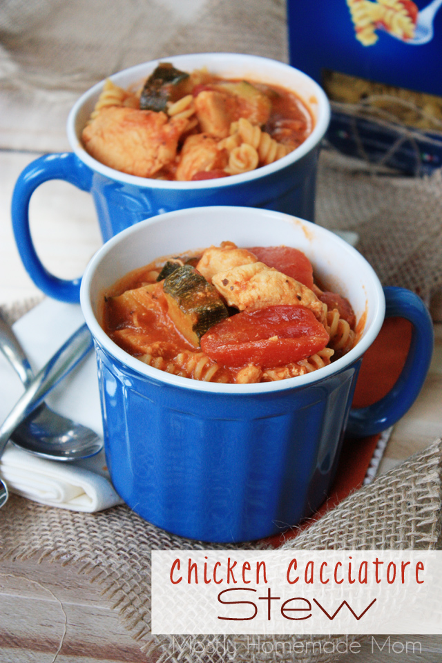 Chicken Cacciatore Stew