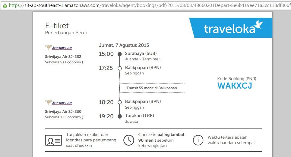 pesan tiket pesawat sriwijaya via traveloka dengan kartu kredit bni rh blogsederhana web id