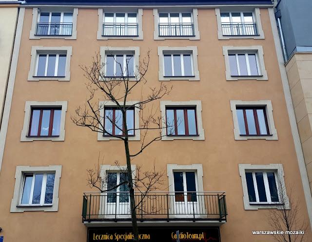 Powiśle Warszawa Warsaw kamienice ulica street modernizm