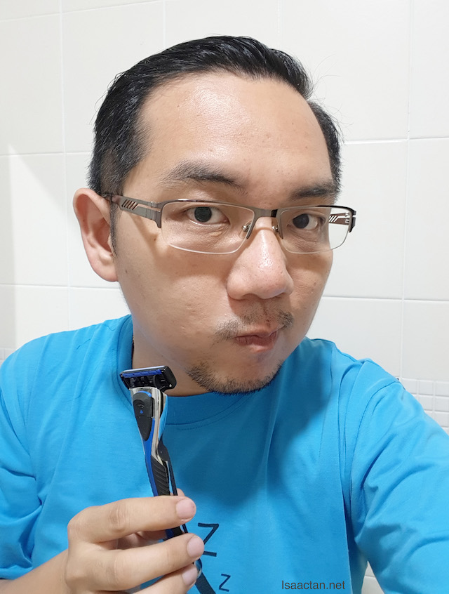 Before using Shaves2U