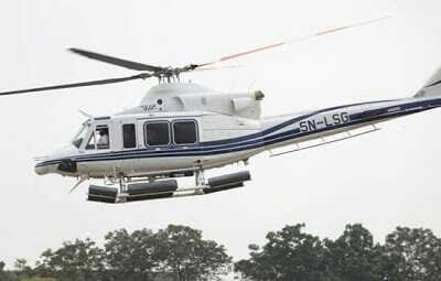 Customs Seizes Two Helicopters at Lagos Airport