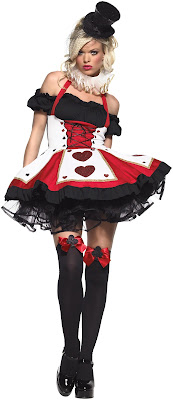 Dark Queen of Hearts Costume for Halloween