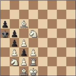 Mate en tres jugadas compuesto por Arturo Pomar en 1941 (2)
