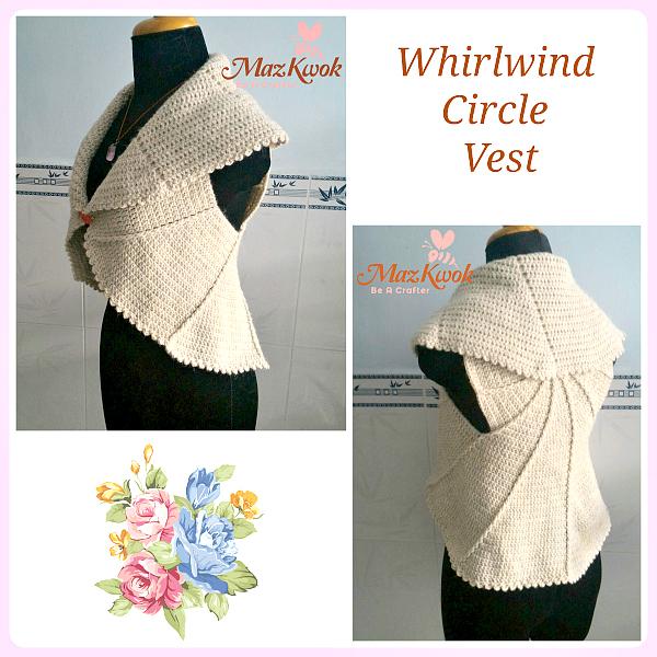 crochet circle vest free pattern