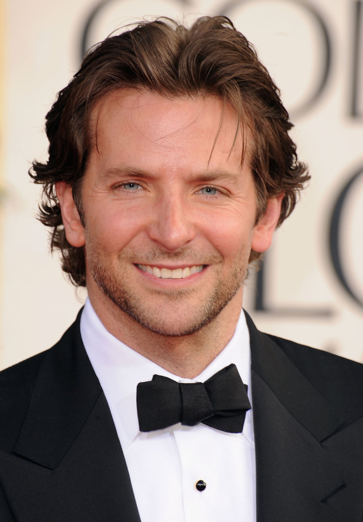 Celeb Diary Bradley Cooper 2013 Golden Globe Awards