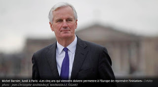 EU's chief negotiator Michel Barnier